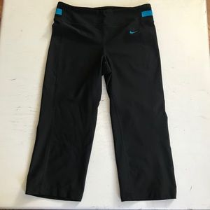 Nike Pants - NIKE DRI-FIT CROP YOGA PANTS SIZE XS